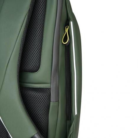 کوله-پشتی-دلسی-مدل-securain-خاکستری-102061013-نمای-زیپ-جیب-کناری