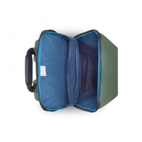 کوله-پشتی-دلسی-مدل-securain-خاکستری-102061013-نمای-بالا-و-داخل
