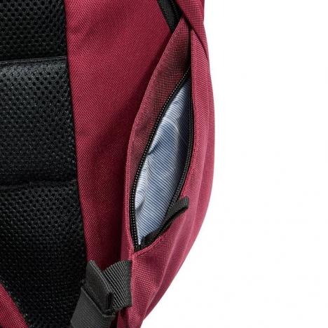 کوله-پشتی-دلسی-مدل-securban-قرمز-333460304-نمای-زیپ-جیب-کناری