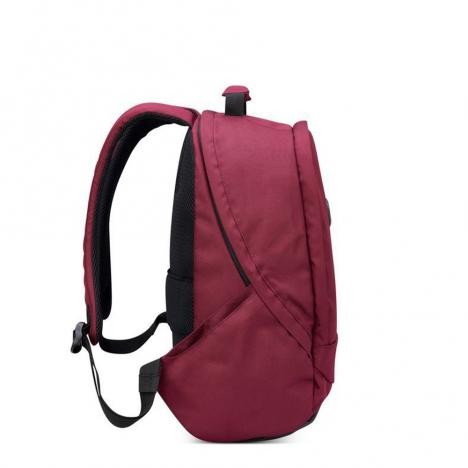 کوله-پشتی-دلسی-مدل-securban-قرمز-333460304-نمای-کناری