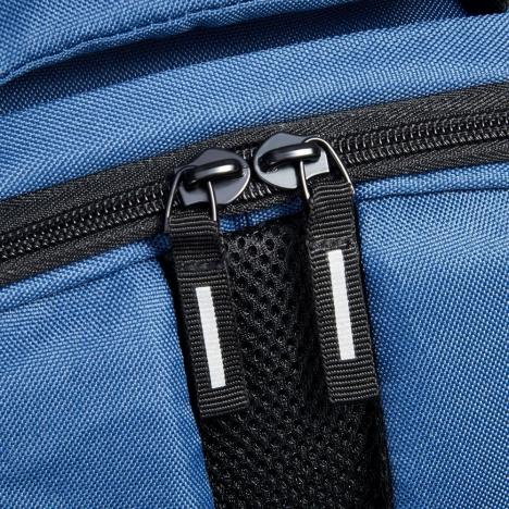 کوله-پشتی-دلسی-مدل-securban-آبی-333460012-نمای-زیپ