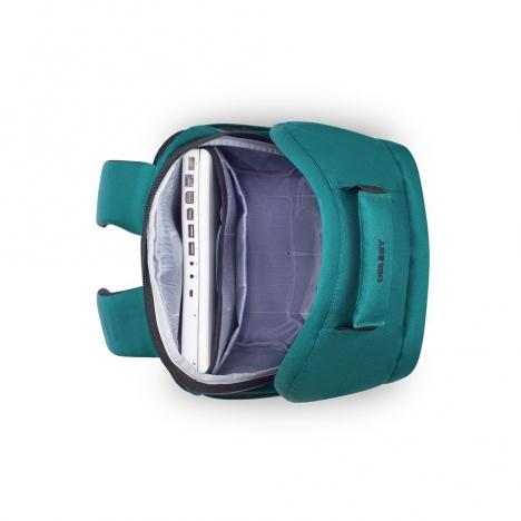 کوله-پشتی-دلسی-مدل-securban-سبز-333460003-نمای-بالا