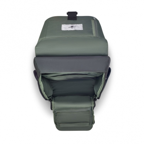 کوله-پشتی-دلسی-مدل-securflap-مشکی-202061000-نمای-جیب-باز-شده