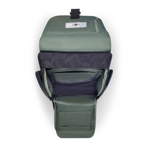 کوله-پشتی-دلسی-مدل-securflap-مشکی-202061010-نمای-جیب-باز-شده