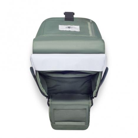 کوله-پشتی-دلسی-مدل-securflap-نقره-ای-202061011-نمای-جیب-باز-شده