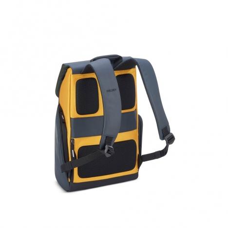 کوله-پشتی-دلسی-مدل-securflap-زرد-202061015-نمای-بند-کوله-پشتی