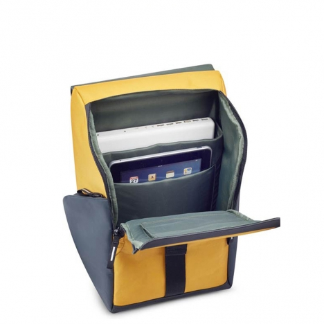 کوله-پشتی-دلسی-مدل-securflap-زرد-202061015-نمای-داخل