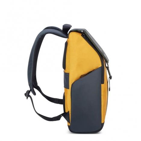 کوله-پشتی-دلسی-مدل-securflap-زرد-202061015-نمای-کناری