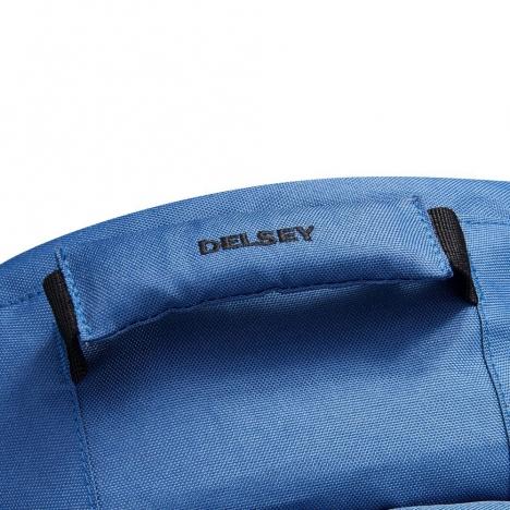 کوله-پشتی-دلسی-مدل-securflap-آبی-تیره-333460312-نمای-دسته-کوله-پشتی