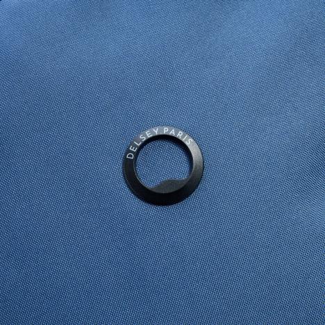 کوله-پشتی-دلسی-مدل-securflap-آبی-تیره-333460312-نمای-لوگو-دلسی