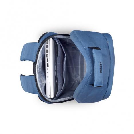 کوله-پشتی-دلسی-مدل-securflap-آبی-تیره-333460312-نمای-داخل