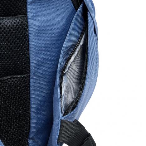 کوله-پشتی-دلسی-مدل-securflap-آبی-تیره-333460312-نمای-جیب-کناری