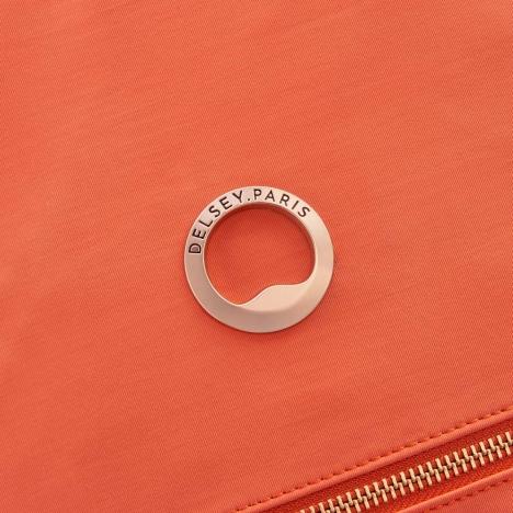 کوله-پشتی-دلسی-مدل-securstyle-نارنجی-202161019-نمای-لوگو-دلسی