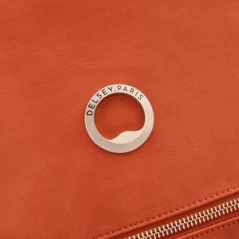 کوله-پشتی-دلسی-مدل-securstyle-نارنجی-202161025-نمای-لوگو-دلسی