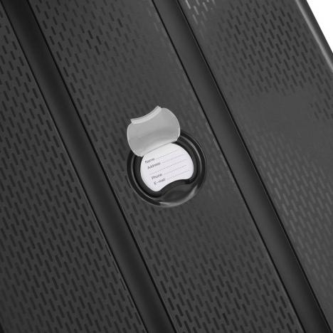 چمدان دلسی مدل BELMONT PLUS سایز متوسط - برچسب اسم و آدرس