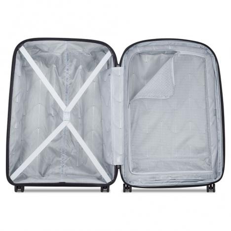 چمدان دلسی مدل BELMONT PLUS سایز کابین - نمای داخل