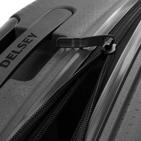 چمدان دلسی مدل BELMONT PLUS سایز کابین - زیپ در حالت باز