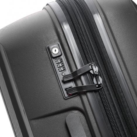 چمدان دلسی مدل BELMONT PLUS سایز کابین - زیپ در حالت بسته