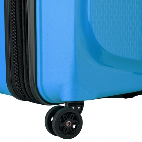 چمدان دلسی مدل BELMONT PLUS - نمای چرخ های دوبل