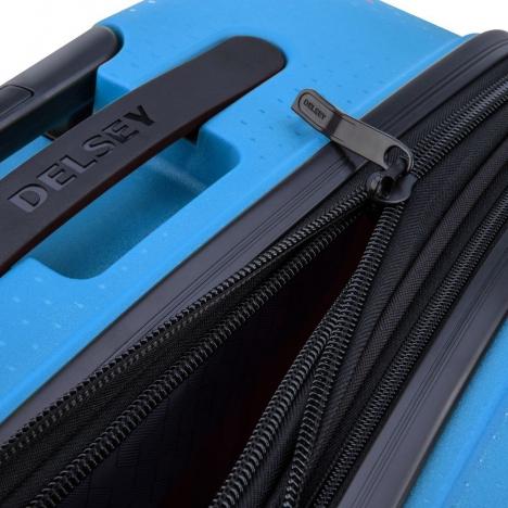 چمدان دلسی مدل BELMONT -نمایی از جنس و بخش های جداگانه
