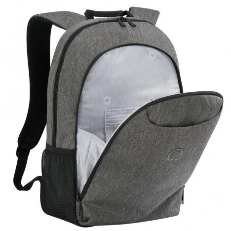 کوله پشتی دلسی مدل ESPLANADE-کد-394262201-نمای-جیب-خارجی-خاکستری