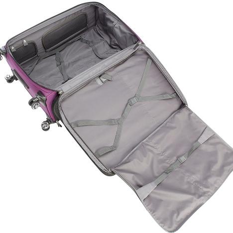 چمدان دلسی مدل هلیوم کروز - 215180008- نمای باز شده