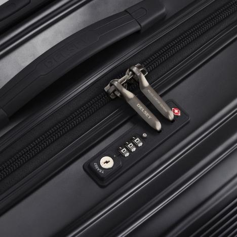 چمدان دلسی مدل caumartin plus نمای قفل TSA