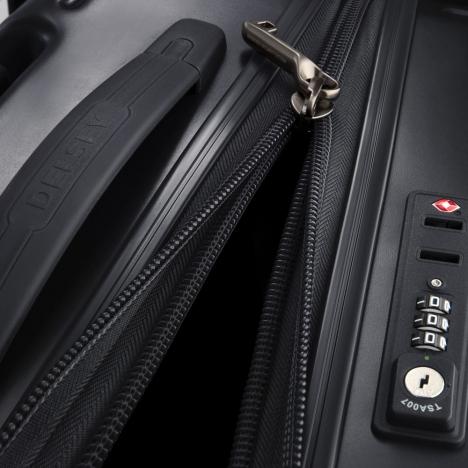 چمدان دلسی مدل caumartin plus نمای نزدیک زیپ