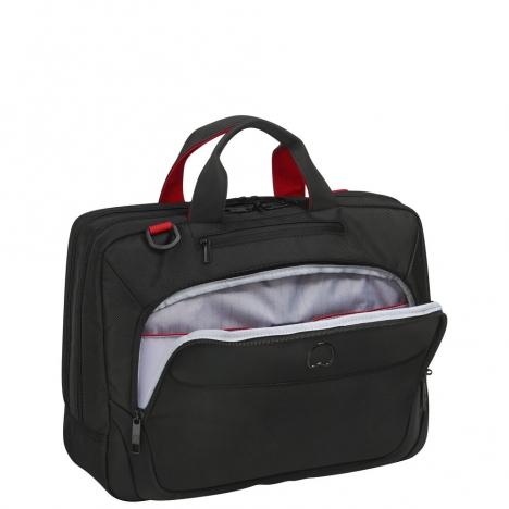 کیف-لپ-تاپ-دلسی-مدل-parvis-کد-394416100-از-نمای-جیب-خارجی