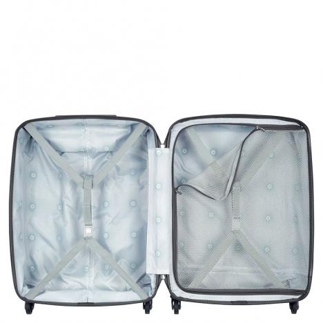 چمدان دلسی مدل 351580100 نمای داخل چمدان از بالا