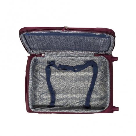 چمدان دلسی مدل 346872404 نمای  داخلی چمدان از بالا