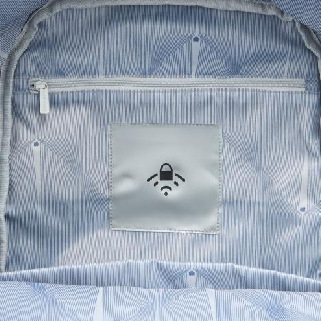 کوله-پشتی-دلسی-مدل-SECURBAN -آبی-333460302-نمای-جیب-مخصوص-آر-اف-آی-دی