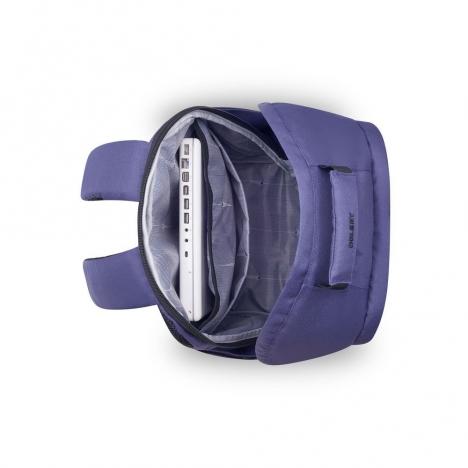 کوله-پشتی-دلسی-مدل-SECURBAN -آبی-333460302-نمای-بالا