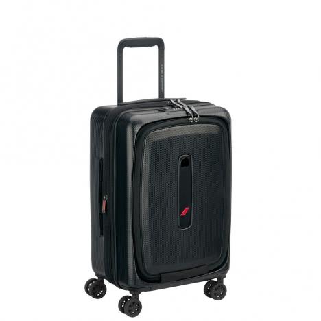 چمدان دلسی مدل 100480100 نمای سه رخ باز شده