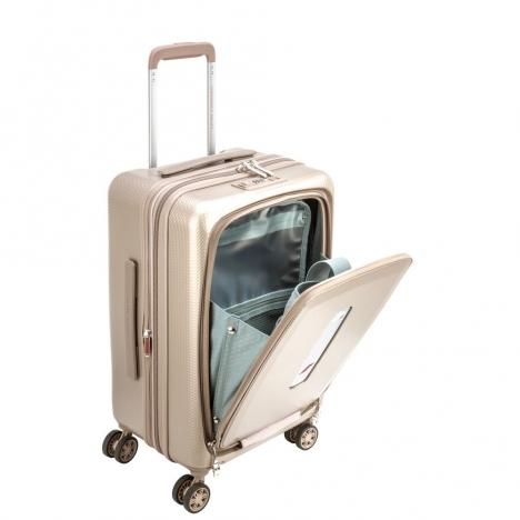 چمدان دلسی مدل تصاویر 100480117 نمای سه رخ باز شده