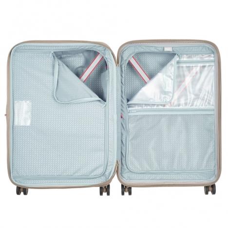 چمدان دلسی مدل 100481117 نمای داخل چمدان از بالا
