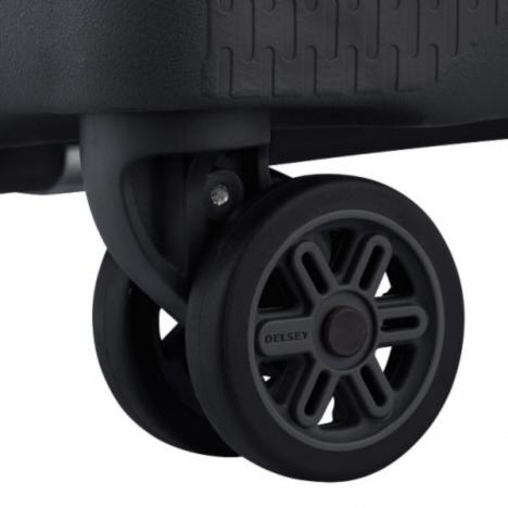 چمدان دلسی مدل 384100 نمای چرخ