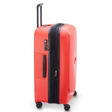 چمدان-دلسی-مدل-belmont-plus-قرمز-386180404-نمای-کناری