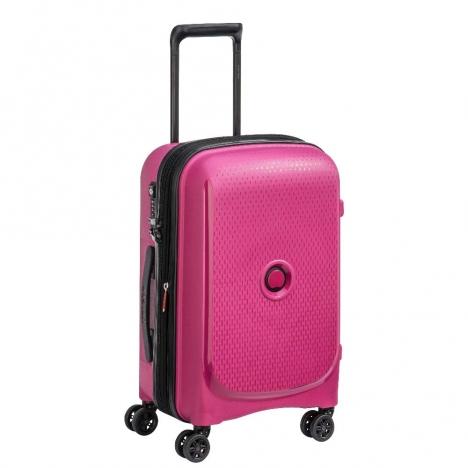 چمدان-دلسی-مدل-belmont-plus-صورتی-386180409-نمای-سه-رخ