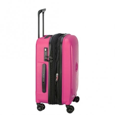چمدان-دلسی-مدل-belmont-plus-صورتی-386180409-نمای-کناری