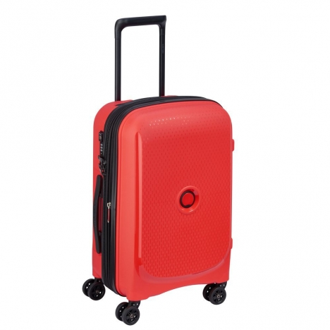 چمدان-دلسی-مدل-belmont-plus-نارنجی-386180414-نمای-سه-رخ