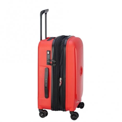 چمدان-دلسی-مدل-belmont-plus-نارنجی-386180414-نمای-کناری