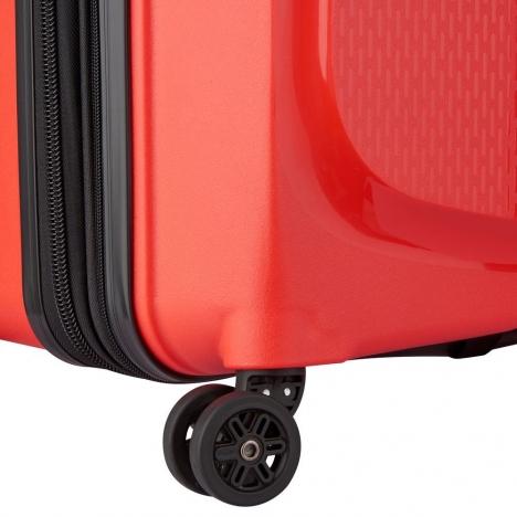 چمدان-دلسی-مدل-belmont-plus-نارنجی-386180414-نمای-چرخ-ها