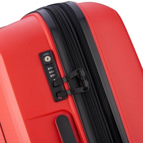 چمدان-دلسی-مدل-belmont-plus-نارنجی-386180414-نمای-زیپ