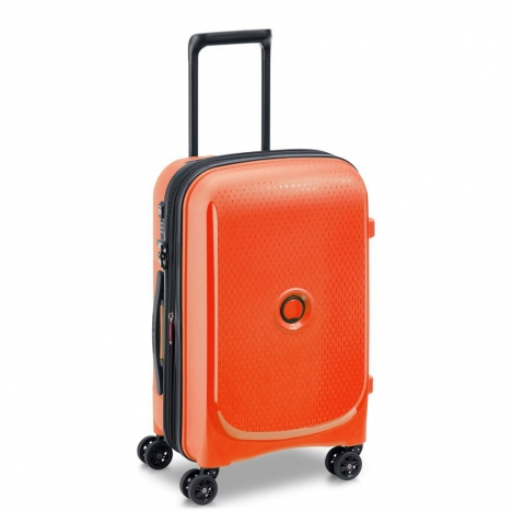 چمدان-دلسی-مدل-belmont-plus-نارنجی-386180425-نمای-سه-رخ