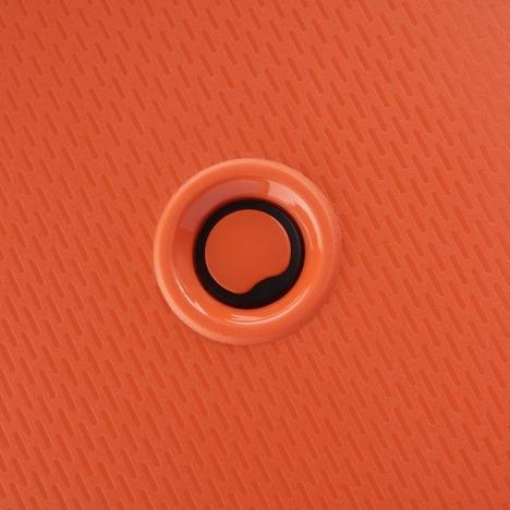 چمدان-دلسی-مدل-belmont-plus-نارنجی-386180425-نمای-لوگو-دلسی