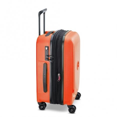 چمدان-دلسی-مدل-belmont-plus-نارنجی-386180425-نمای-کناری