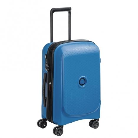 چمدان-دلسی-مدل-belmont-plus-آبی-386180432-نمای-سه-رخ