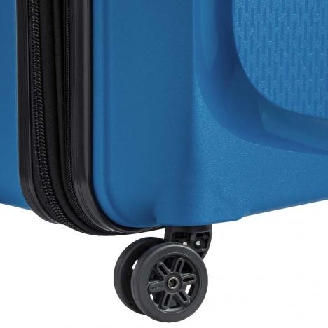 چمدان-دلسی-مدل-belmont-plus-آبی-386180432-نمای-چرخ