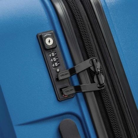 چمدان-دلسی-مدل-belmont-plus-آبی-386180432-نمای-زیپ